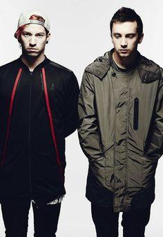 Josh Dun and Tyler Joseph  #TØP
