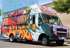 Eat rattlesnake wieners from an art gallery. It's Brats Berlin #SanDiego. #FoodTrucks