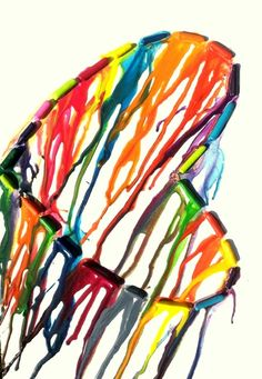 Crayon Art.. we could try it?