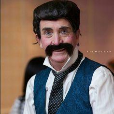 Crazy waiter. www.colinunderwood.co.za