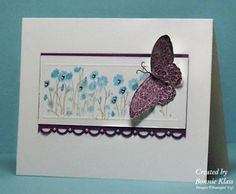 Stamping with Klass: Butterfly Garden