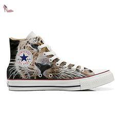 Converse Customized Chaussures Personnalisé et imprimés UNISEX (produit artisanal) Tiger Style - size EU40 - Chaussures mys (*Partner-Link)