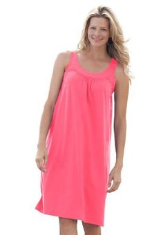 Woman Within Plus Size Dress For Summer In Soft Jersey (Rose Pink,M) Woman Within. $6.88. Save 85%!