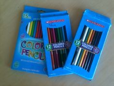 Day 237: Colored Pencils
