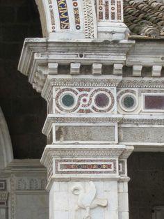 Mosaic of Cosmati (1210) Civita Castellana, Viterbo
