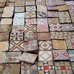 Rescued Tiles - Miniguide Barcelona Baldosas hidráulicas…