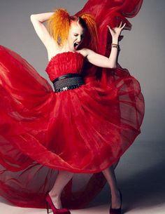Hayley Williams on Elle photoshoot