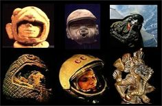 Ancient Aliens? Ancient Civilizations with Astronaut Carvings, coincidence?
