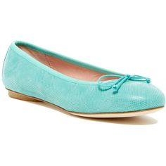 Patricia Green Audrey Wips Flat ($113) ❤ liked on Polyvore featuring shoes, flats, aqua, round cap, aqua shoes, aqua flats, round toe flats and leopard print slip-on shoes