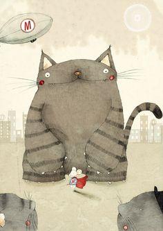 Mouse Hero Illustration by Judith Loske