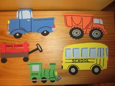 """Flannel Friday: Construction Trucks 