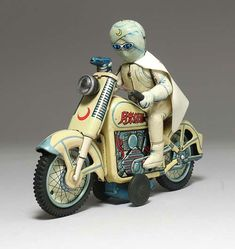 野村トーイ 月光仮面オートバイ