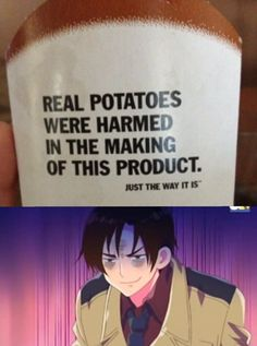 Hetalia me and romano:muahahahahahahhahahhahhahahhahahahahhahahhaha in front of germany haha potato bastardo