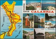 AA9723 Souvenir Calabria - Vedutine - Cartolina postale - Vintage Postcard Reggio Calabria, Xmas, Vintage, Card Stock, Souvenir, Christmas, Navidad, Noel, Vintage Comics
