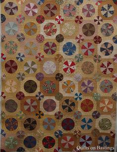'Pies & Tarts' | Circle Quilt | Quilts On Bastings