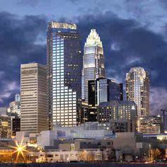 """~Spectacular View of Charlotte known as """"The Queen City""""~"""