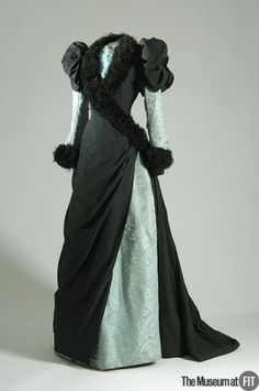 Evening Dress 1882 The Museum at FIT