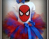 Image detail for -SpiderGirl Spiderman tutu set- red, blue, and black tutu Spiderman Bebe, Girl Spiderman Costume, Spider Girl Costume, Spiderman Outfit, Black Tutu, Girl Costumes, Superhero Tutu Costumes, Toddler Costumes, Superhero Party