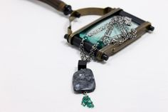Labradorite Black and Green Onyx Necklace by RitaBDesigns on Etsy, $72.00 Enjoy 15% off on the entire collection! Discount Code: mom15