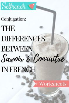 """Hi guys! Bonjour à tous ! To follow up on last week's article on the verbs Avoir and Être (to have / to be), I thought it would be useful to go a little further and see the differences, uses, and tricky conjugations of the verbs Savoir and Connaître, which in English, are both translated as """"to know"""". (or almost!). Let's dive in! 1) Conjugation Savoir / Connaître First, a little bit of conjugation, they both are irregular verbs after all... You can download this wallpaper from the shop or…"""