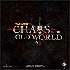 Official Fantasy Flight Video:   What's Cool:  You get to play as the Evil Demon Gods of Chaos! Don't have to be a Warhammer fan to enjoy this game. Map design is beautiful (By: Andrew Navaro). Multiple ways of winning. Start-up map