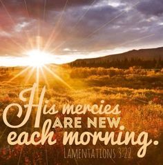 Thank you, Lord! #Lamentations 3:22