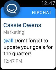 HipChat Apple Watch App