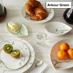 Arbour Green is now retired, and remaining items are 50% off! http://noritakechina.com/arbour-green.html #dinnerware #tablescapes #noritake