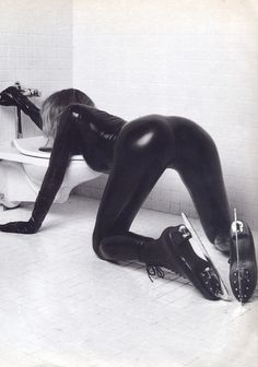 Max France, 1994  Model : Rachel Williams