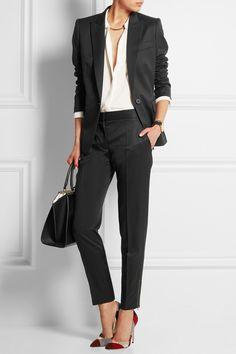 Stella McCartney|Ingrid wool-twill blazer|NET-A-PORTER.COM
