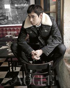 Kang Dong Won - Vogue Magazine September Issue '14