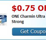 save $.75 on any one Charmin Ultra Soft or Ultra Strong!