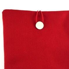 Red Ipad Air Case,Canvas Ipad Sleeve,Red Ipad Cover,Thick Canvas Ipad Case,Canvas Fabric,Ipad Air Case,Red Book Case,Canvas Book Case by GFMODE on Etsy