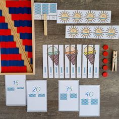 montessori math resource is part of the montessori summer mega bundle only available to the 22nd of June 2021 Montessori Math, Montessori Elementary, Elementary Math, Counting Activities, Math Resources, Free Printables, Homeschool, June