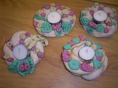 zoutdeeg maken - Google zoeken Coasters, Wordpress, Creative, How To Make, Kids, Crafts, Toddlers, Om, Art Ideas