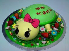 ladybug bug cake Ladybug Cakes, Cupcake Cakes, Cupcakes, Beautiful Cakes, Fondant, Birthday Cake, Cookies, Party, Desserts