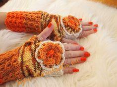 Oranssi/valkoiset kukkakämmekkäät