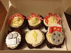Cupcakes in Rome Movie Cupcakes, Cupcake Party, Cupcake Bakery, Frosting Recipes, Cupcake Recipes, 9th Birthday Parties, Birthday Ideas, Cupcake Heaven, Mystery Parties