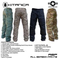 Kitanica All Season Pants - Made in the USA