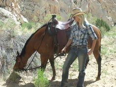 Horse trekking with friends is one fantastic way to explore Cowboy Country...
