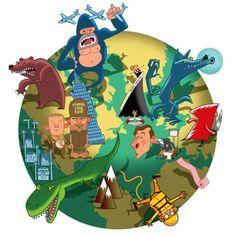 children's book illustrators - http://www.organisart.co.uk/
