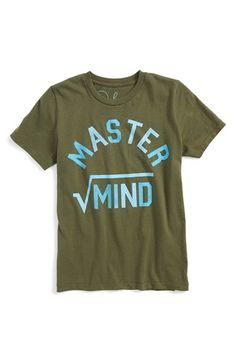 Peek 'Master Mind' Graphic T-Shirt (Toddler Boys, Little Boys & Big Boys) available at #Nordstrom