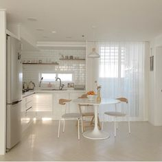 Room Design Bedroom, Home Room Design, Home Interior Design, House Design, Home Decor Kitchen, Kitchen Interior, Kitchen Ideas, Korean Apartment Interior, Interior Minimalista