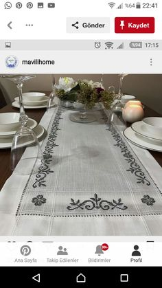 Bargello, Table Runners, Cross Stitch, Videos, Embroidered Towels, Tulips, Cross Stitch Embroidery, Herb, Hairstyle Man