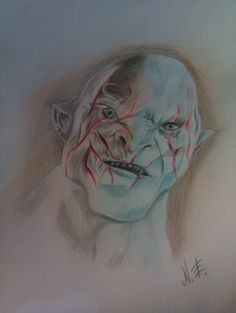 Azog , Leader Orc - The Hobbit