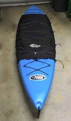 068ec4478b A universal kayak cockpit cover and drape to protect your kayak and keep it  clean during