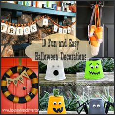 The REAL Housewives of Riverton: 10 Fun and Easy Halloween Decorations!