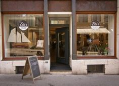 Edu's Coffee and Clothes // Biel, Switzerland Coffee Culture, Switzerland, To Go, Entourage, Geneva, Outdoor Decor, Cities, Corner, Europe