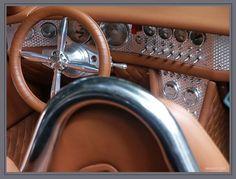 Spyker interior una verdadera obra automotriz