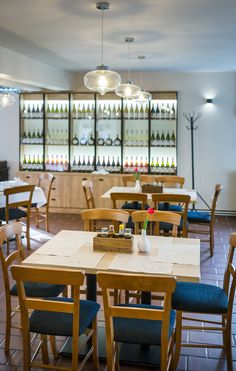 BeDesign Contract restaurant reference in Badacsonytomaj. Restaurant Furniture, Contract Furniture, Hungary, Hospitality, Conference Room, Table, Projects, Home Decor, Homemade Home Decor